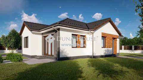 Eladó Ház, Bács-Kiskun megye, Kecskemét - 90 nm-es, új ház, napelemmel - 568 nm-es telken