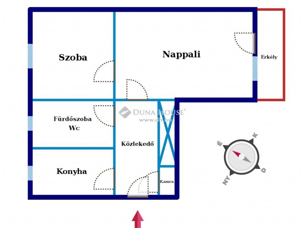 Eladó Lakás, Bács-Kiskun megye, Kecskemét - Hunyadiváros   Buszpályaudvar közelében!