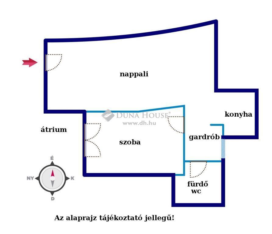 Eladó Lakás, Somogy megye, Balatonföldvár - Balatonföldváro 1.emeleti lakás verhetetlen áron