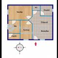 Eladó Ház, Hajdú-Bihar megye, Hajdúsámson - 1+2 szobás ikerház, 490 nm telekkel!
